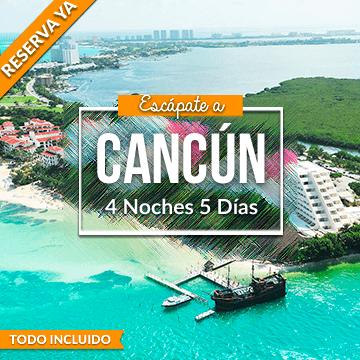 Planes Todo Incluido en Cancún